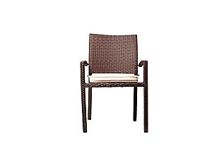International Home Miami 4-Piece Outdoor Armchairs with Cushions, , large