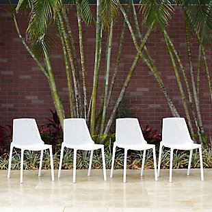 International Home Miami 4-Piece Outdoor Chairs, , rollover