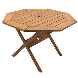 International Home Miami Outdoor Patio Dining Table, , large
