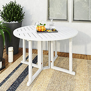 CorLiving  Miramar Outdoor Drop Leaf Dining Table, , rollover