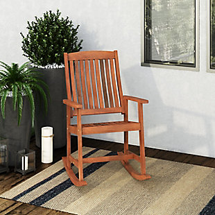 CorLiving  Miramar Outdoor Rocking Chair, , rollover