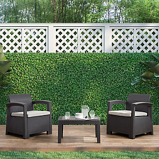 CorLiving  Lake Front 3-Piece Outdoor Patio Chair Set, , rollover