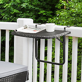 CorLiving  Parksville Outdoor Foldable Balcony Table, , rollover