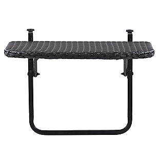 CorLiving  Parksville Outdoor Foldable Balcony Table, , large
