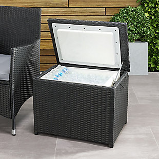 CorLiving  Parksville Outdoor Insulated Cooler Table, , rollover