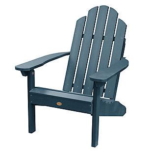 Highwood® Classic Westport Outdoor Adirondack Chair, Nantucket Blue, large