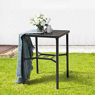 """Nuu Garden  Outdoor 28"""" Square Bar Table, , rollover"""