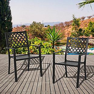 Nuu Garden  Outdoor Patio Dining Chair (Set of 2), , rollover
