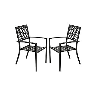Nuu Garden  Outdoor Patio Dining Chair (Set of 2), , large
