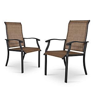 Nuu Garden  Outdoor Textilene Dining Chair (Set of 2), , large