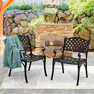 Nuu Garden Outdoor Patio Dining Armchair (Set of 2), , rollover