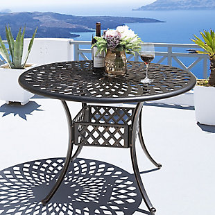 "Nuu Garden  42"" Outdoor Round Dining Table, , rollover"
