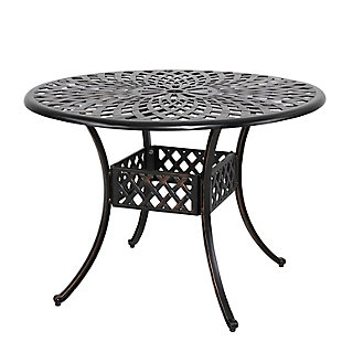 """Nuu Garden  42"""" Outdoor Round Dining Table, , large"""