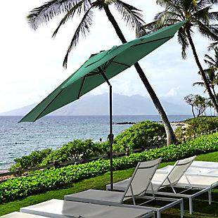 Nuu Garden  Outdoor Sunshade Umbrella, Green, rollover