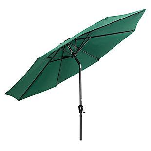 Nuu Garden  Outdoor Sunshade Umbrella, Green, large