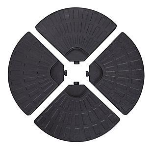 Nuu Garden  Outdoor Cantilever Umbrella Weight (Set of 4), , large