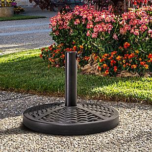 Nuu Garden Outdoor Patio Round Umbrella Base, , rollover