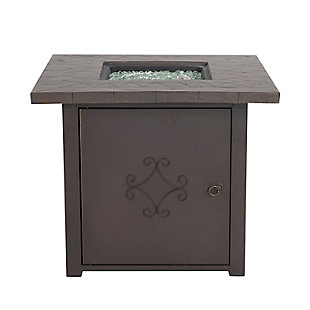 """Nuu Garden 30"""" Outdoor Steel Propane Gas Fire Pit Table, , large"""