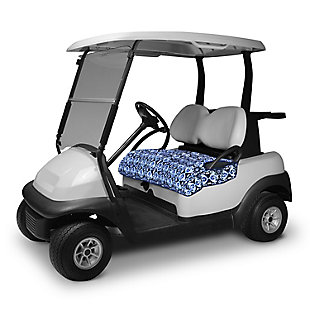 Vera Bradley by Classic Accessories Outdoor Golf Seat Blanket, Ikat Island, rollover
