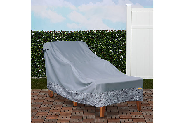 Vera Bradley by Classic Accessories Outdoor Chaise Lounge Cover, , large
