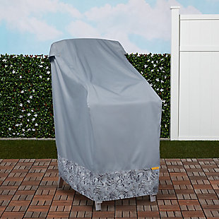 Classic Accessories Outdoor Stackable Chair Cover, , rollover