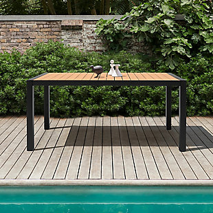 Armen Living Panama Outdoor Dining Table, , rollover