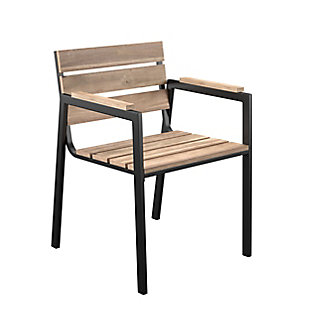 Southern Enterprises Chesterton Outdoor Slatted Chair (Set of 2), , large
