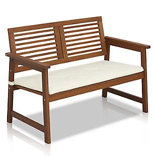 Furinno Tioman Outdoor Hardwood Bench, , large