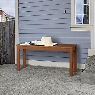 Furinno Tioman Outdoor Hardwood Backless Bench, , rollover