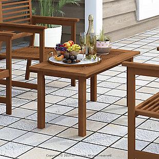Furinno Tioman Outdoor Hardwood Coffee Table, , rollover