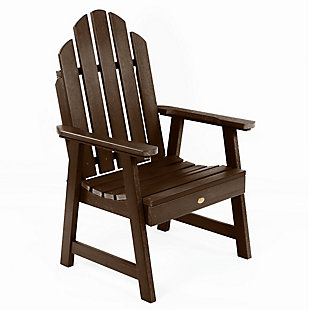 Highwood Weatherly Garden Chairs, Weathered Acorn, large