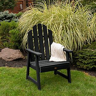 Highwood Weatherly Garden Chairs, Black, rollover
