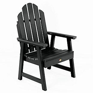 Highwood Weatherly Garden Chairs, Black, large