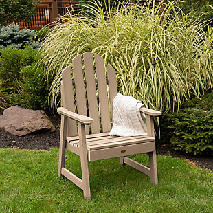 Highwood Weatherly Garden Chairs, Tuscan Taupe, rollover