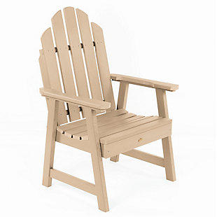 Highwood Weatherly Garden Chairs, Tuscan Taupe, large