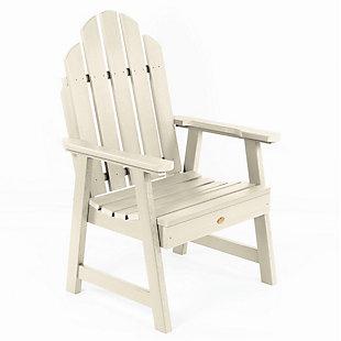 Highwood Weatherly Garden Chairs, Whitewash, large