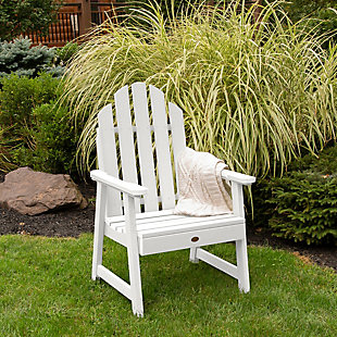 Highwood Weatherly Garden Chairs, White, rollover