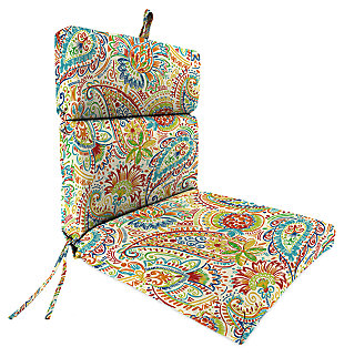 "Home Accents 22"" x 44"" French Edge Chair, Multi, large"