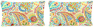 "Home Accents 20"" x 13"" Outdoor Pillow (Set of 2), Multi, rollover"