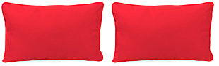 "Home Accents 20"" x 13"" Outdoor Sunbrella® Pillow (Set of 2), , rollover"