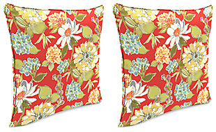 "Home Accents 20"" x 20"" Outdoor Pillow (Set of 2), , large"