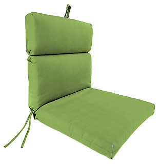 "Home Accents 22"" x 44"" French Edge Chair, Green, large"