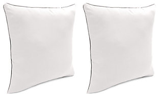 "Home Accents 17"" x 17"" Outdoor Sunbrella® Pillow (Set of 2), Natural, rollover"