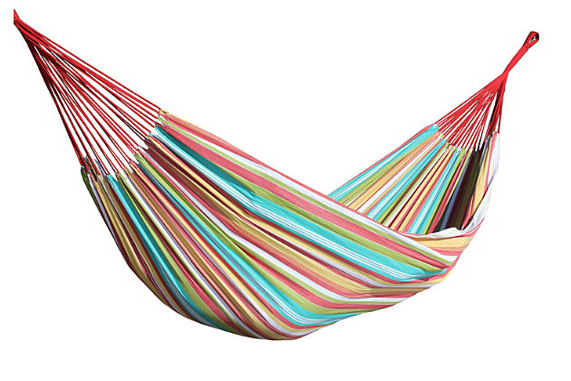 Home Accents Double Brazilian Hammock, , large