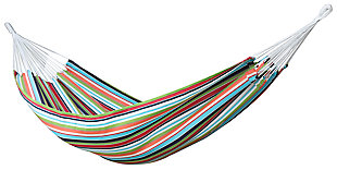 Patio Double Brazilian Sunbrella® Hammock, Confetti, large