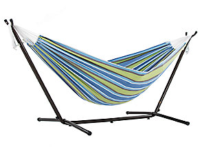 Patio Double Hammock with Stand, , large