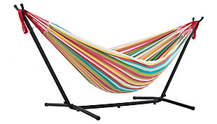 Patio Double Hammock with Stand, Salsa, large