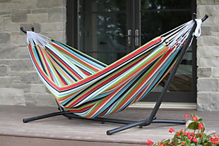 Patio Sunbrella® Hammock with Stand, , rollover
