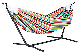 Patio Sunbrella® Hammock with Stand, , large