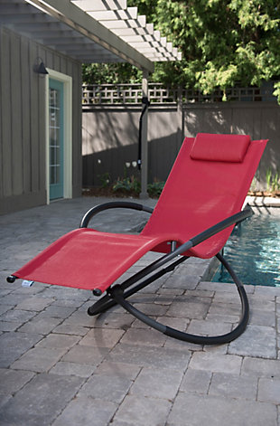 Patio Orbital Lounger, , rollover